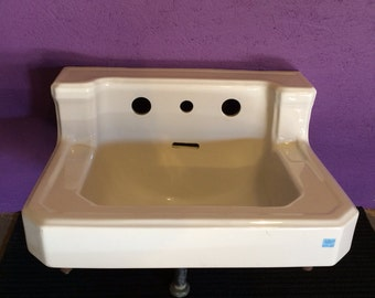 Mid Century White Bathroom Sink by American Standard - Shipping Available