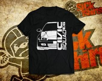 Civic EG T-shirt for Honda Civic 5gen EG lovers and owners.