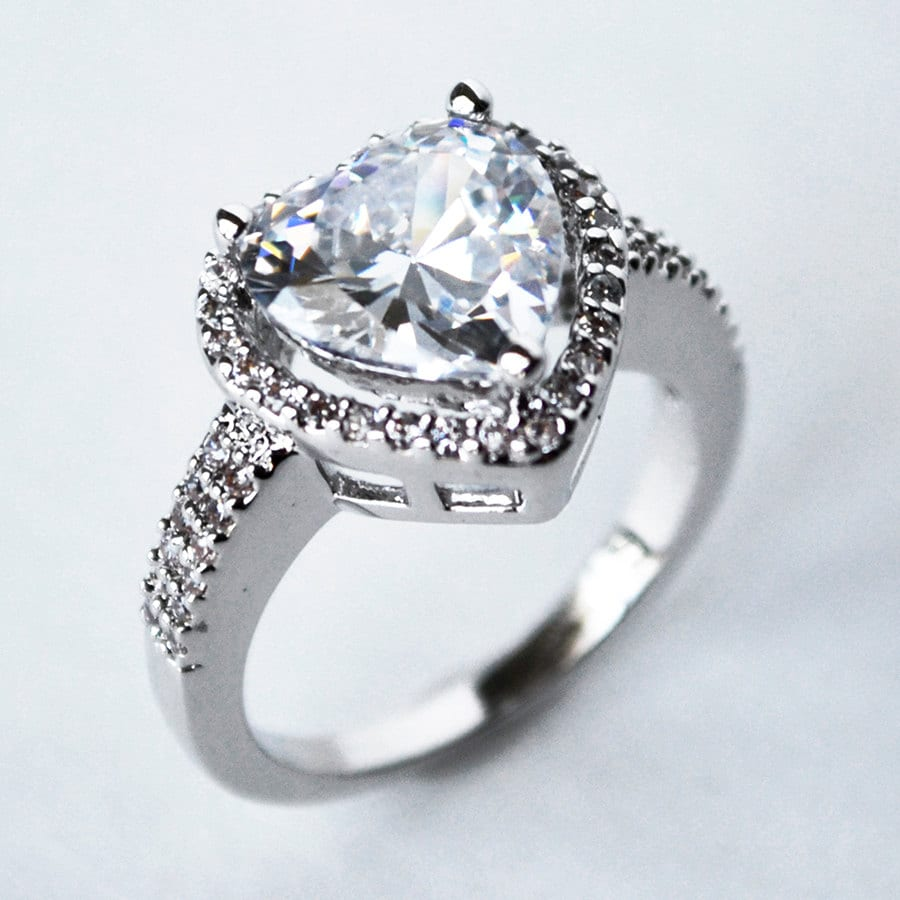 cubic zirconia wedding rings cubic zirconia engagement ring cz ring cz wedding ring cz 3220