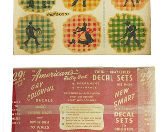 1940s Betty Best Decals