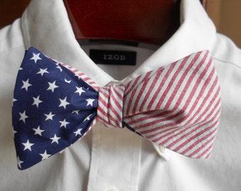 Bow Tie - Stars and Stripes - Men's self tie