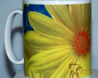 Yellow Daisy Mug