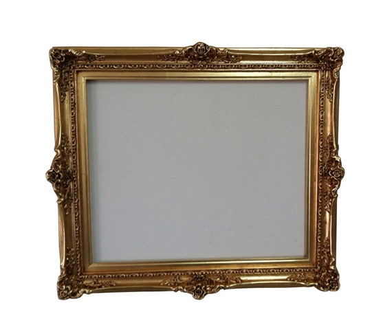 20x24 shabby chic large picture frame gold mirror by
