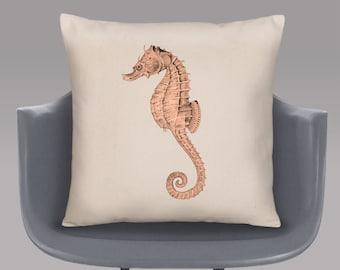 Seahorse Cushion Cover