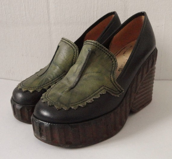 reserved for 70s platform shoes college
