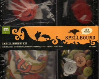 Making Memories SPELLBOUND Embellishment Kit