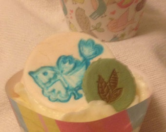 Love Birds Cupcake Wrappers