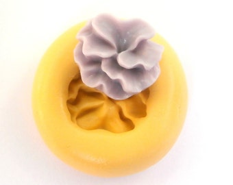 Flower Mold Mould Resin Clay Fondant Wax Soap Fimo Flexible Silicone Mold