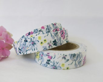 Floral Fabric Tape / Adhesive Decoration Fabric Tape  FT040