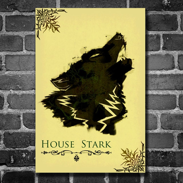 Game Of Thrones Poster Movie Art Minimalist Poster Geekery Art
