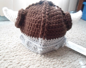 Viking Hat.  Available in Sizes Newborn-12 Months.