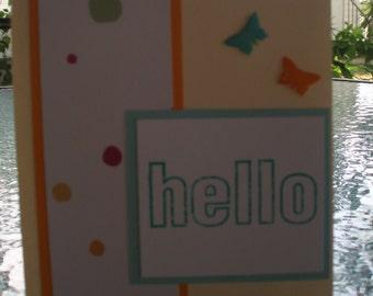 Hello Friendship Card
