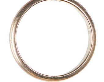 Antique yellow gold 8k band ring size 6 1/4