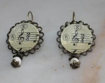 """Earrings """"Key of Sun"""", 20 mm."""