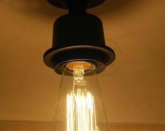 Ceiling Aluminium light Industrial  Antique Edison Bulb, Lamp, Rustic Lighting