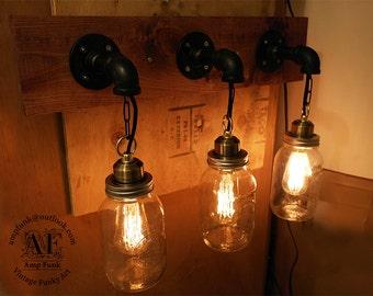 Bathroom Vanity Light Mason Jars
