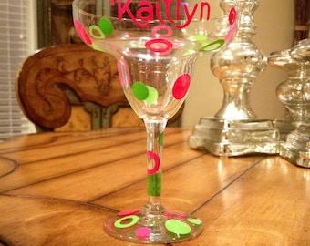 Margarita Glass Personalized - Custom Margarita - Girlfriend Gift