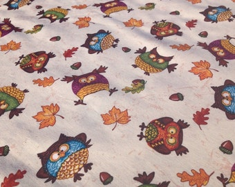 Autumn Owls Pillowcase
