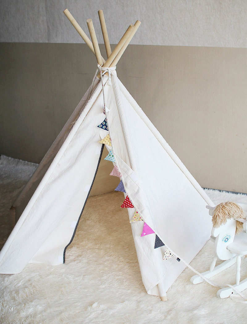 soabe simple indian tent teepee tent kids toy children toy. Black Bedroom Furniture Sets. Home Design Ideas