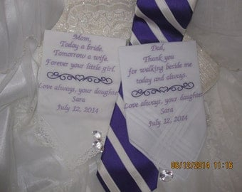 Wedding Gift Hankie Set