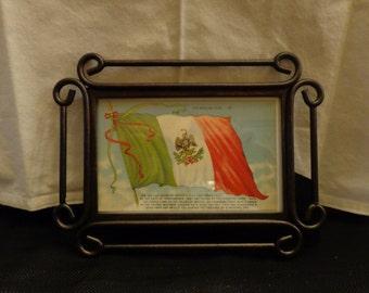 Mexican Flag Post Card.