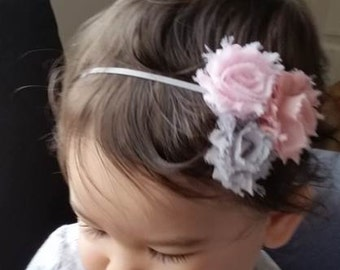 Adorable Shabby Flower Headband