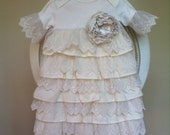 Vintage style Infant dedication christening baptism going home take home gown layette gift baby girl baby shower