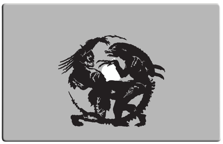 Movie Poster avp movie poster : Predator Alien Silhouette Pictures to Pin on Pinterest ...