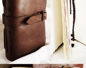 Handmade Leather Book/Journal - Fine Sketch Paper