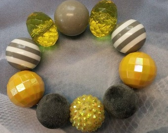 Yellow Stretch Bracelet