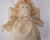 Christmas Angel, Collectible Primitive Country Ornament