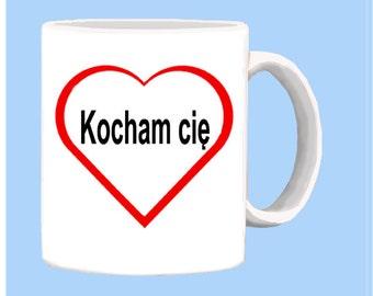 Polish I LOVE YOU mug