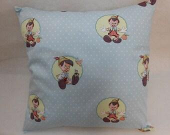 "Pinocchio Nursery Cushion Cover 40cm x 40cm (16""x 16"")"
