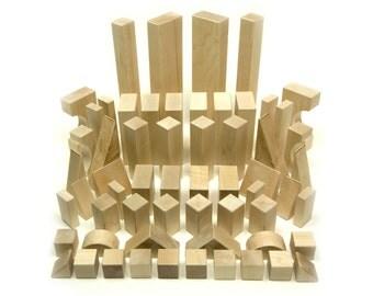 Maple Building Blocks - 60 pc. Deluxe Set