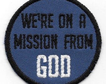 We're On a Mission From God patch