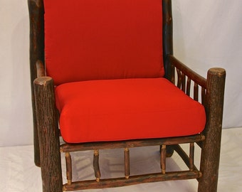Outdoor hickory chair