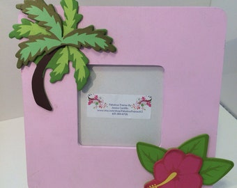 Hawaii Picture Frame-Vacation Frame-Beach Picture Frame