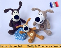 F01F Buffy the dog! Amigurumi crochet pattern. PDF file. By Pertseva Etsy