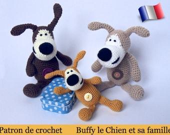 F01F Buffy the dog! Amigurumi crochet pattern. PDF file. By Pertseva Etsy