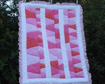 Petite Pink Baby Quilt