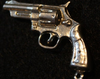 Thirty-eight Special Pistol - Sterling Silver Pendant