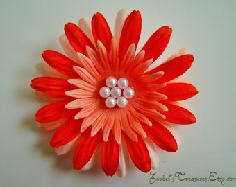 Flower Hair Clip - One Size - #149
