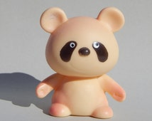 Soviet Rubber Toy, Rubber Panda, Baby Bath Toy Little Panda 1980s. Made in USSR Collectible