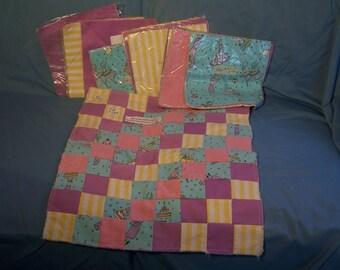 Girls Full Rag Quilt Kit