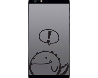 TechTattz Rupert Dinosaur Vinyl Decal Sticker for Phone Tablet Laptop
