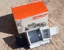 GAF Pana-vue Automatic Lighted Slide viewer || vintage