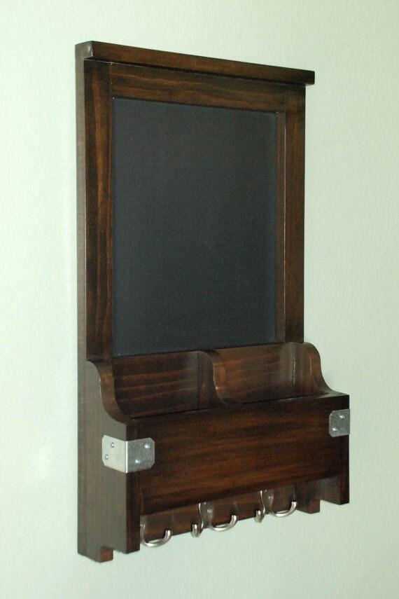 Narrow Foyer Jewelry : Narrow entry wall organizer chalkboard mail phone key