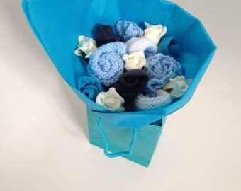 Knitted Baby Bouquet