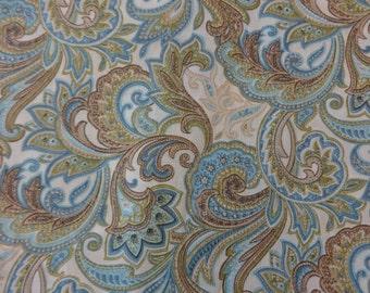 Blue Multi Floral Paisley 319