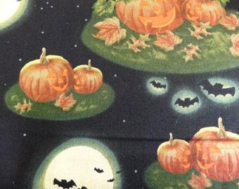 Pumpkins in the Moonlight  Fabric 552